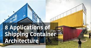 100 Cargo Container Buildings 8 Various Applications Of Shipping Architecture From