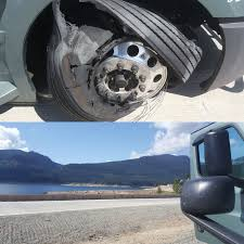 A Load Lock Flew Off A Truck And Blew My Front Right Tire. At Least ...
