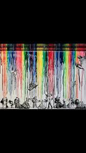 14 Best Disney Crayon Art Images On Pinterest