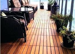Balcony Flooring Ideas Deck The Ground Beneath Her Feet Porch Outdoor Waterproof Floor
