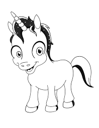 Unicorn Coloring Pages Kids