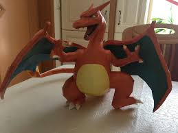 CraftFinished My New Papercraft Project Charizard