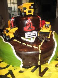 My Owen's 2nd Birthday Dump Truck Cake! |