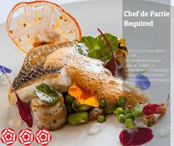 chef de partie en cuisine chef de partie stunning country house hotel kettering