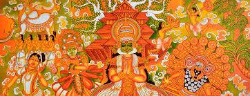 Famous Kerala Mural Artists by Slekshmimukh