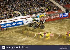 100 Monster Truck Orlando Jam At Citrus Bowl In Florida Stock Photo