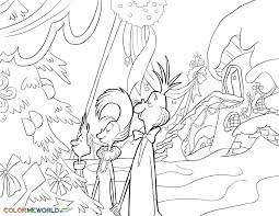 The Grinch Coloring Pages Free Printable PDF Sheets For Kids