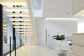 Architecture White Modern Wooden Staircase Lighting Ideas With ... Heavenly Ideas Decoration Gorgeous Metal Banister Glass Rails Stairs Staircase Balustrade Timber Stainless Steel Cable Railing Idea Photo Gallery Ironwood Cnection Stair Commercial Non Slip Treads Oak Contemporary Banisters And Handrails Modern For Elegant Latest Door Design Railing Alternative With Acrylic Panels By Fusion Interior Banister Lawrahetcom Grandiose Circular Chrome Polished Handle With Clear Kits Astonishing Indoor Railings Surprisdoorrailings