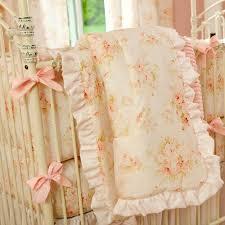 Shabby Chic Nursery Bedding by Shab Chenille Crib Bedding Pink Floral Ba Crib Bedding Shabby