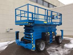 100 Scissor Lift Truck Used Genie GS 5390 RT Scissor Lifts Year 2019 For Sale Mascus USA