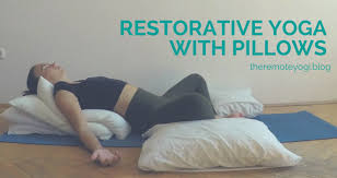 Restorative Yoga With Pillows