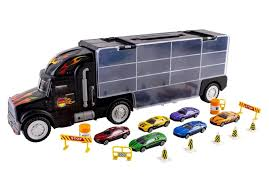Car Carrier Truck Toy Car Transporter Includes 6 Metal Cars & 28 ... Team Hot Wheels Truckin Transporter Stunt Car Youtube Sandi Pointe Virtual Library Of Collections The 8 Best Toy Cars For Kids To Buy In 2018 Mattel And Go Truckdwn56 Home Depot Wvol Hand Carryon Wild Animals Transport Carrier Truck 1981 Hotwheels Rc Car Carrier Hobbytalk Other Radio Control Prtex 24 Detachable Aiting Carry Case Red Mega Hauler Big W Hshot Trucking Pros Cons The Smalltruck Niche Walmartcom
