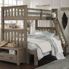 atlantic furniture columbia twin over full bunk bed hayneedle