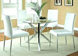 Dining Room Chair Covers Set Of 4 Table And Sets For Small Spaces Chairs With Casters Round Kitchen Tables 3 Piece Furniture Winsome Roun