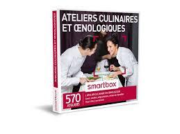 smartbox cours de cuisine coffret cadeau ateliers culinaires et œnologiques smartbox