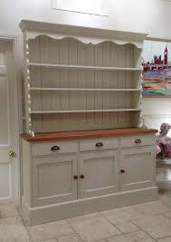 hand painted dresser cream solid pine welsh dresser sideboard