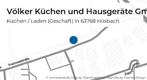 völker küchen und hausgeräte gmbh frohnradstraße in hösbach