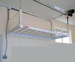 Hyloft Ceiling Storage Unit Instructions by Garage Overhead Storageceiling Storage Unit Hyloft Ceiling