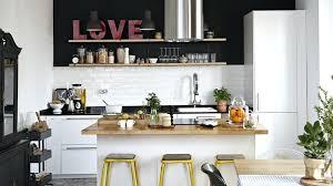 cuisine am駻icaine avec ilot central ilot centrale cuisine cuisine americaine ilot central 15 deco maison