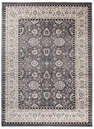 details zu teppich orient grau wohnzimmer perser muster s 160x230 200x300 300x400