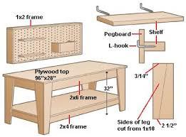 free diy workbench plans garage woodworking plans ideas ebook pdf