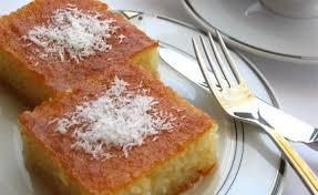 cuisine turc facile revani gâteau de semoule turc au sirop turcculina la cuisine