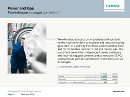 Dresser Rand Group Inc Investor Relations by The Company Siemens 2014 2