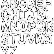 Free Printable Bubble Letters Font Printable Bubble Letters Crna