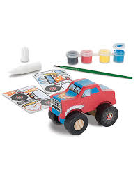 Melissa & Doug DIY Monster Truck, To Build And Paint - With Stickers ... Monster Trucks Wall Stickers Online Shop Truck Decal Vinyl Racing Car Art Blaze The Machines A Need For Speed Sticker Activity Book Cars Motorcycles From Smilemakers Crew Wild Run Raptor Monster Spec And New Stickers Youtube Build Rc 110 Energy Ken Block Drift Self Mutt Dalmatian Pack Jam Rockstar Sheets Get Me Fixed And Crusher Super Tech Cartoon By Mechanick Redbubble Ford Decals Australia