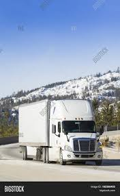 White Semi Truck 18- Image & Photo (Free Trial) | Bigstock