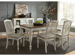 Liberty Furniture Dining Room 7 Piece Rectangular Table Set ... Dorel Living Andover Faux Marble Counter Height 5 Pc Ding Set Denmark Side Chair Designmaster Fniture Ava Sectional Cashew Hyde Park Valencia Rectangular Extending Table Of 4 Button Back Chairs Room Big Sandy Superstore Oh Ky Wv Hampton Bay Oak Heights Motion Metal Outdoor Patio With Cushions 2pack Sofa Usb Charging Ports Intercon Nantucket Transitional 7 Piece A La Carte And Liberty