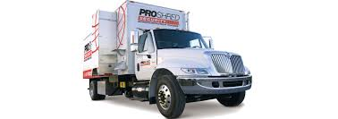 100 Shred Truck Paper Ding Hard Drive Destruction PROSHRED New Jersey