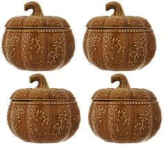 Pumpkin Soup Tureen And Bowls by Temp Tations Floral Lace S 4 12 Oz Pumpkin Soup Bowls Page 1
