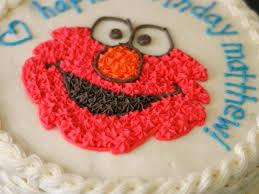 Elmo Halloween Stencil by Elmo Ice Cream Cake Cakecentral Com