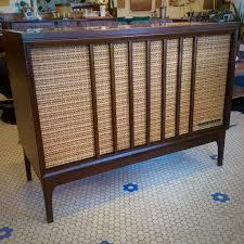 Magnavox Record Player Cabinet Astro Sonic by Mid Century Modern Steelman Record Player U0026 Speaker Console