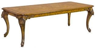 casa padrino luxus barock esstisch hellbraun 240 x 110 x h 78 cm handgefertigter massivholz esszimmertisch im barockstil barock esszimmer möbel