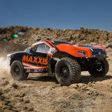 100 Losi Trucks RTR 22S Maxxis KN Themed 2wd Short Course VIDEO