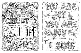 Posh Adult Coloring Book Hymnspirations For Joy Praise