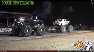Massive Dodge And Chevy Mega Trucks Compete In Tug-A-Truck