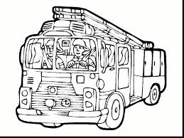 Fire Engine Colouring Pages Printable With Truck Coloring Page For ...