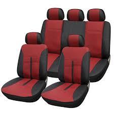 car in housse bordeaux woltu as7291 couverture de siège de voiture housses de siège