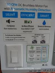 Humidity Sensing Bathroom Fan by Delta Breez Humidity Sensing Bath Ventilation Fan