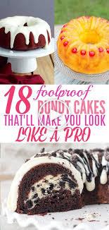 18 einfach bundt cakes dass sie schnell devour kuchen