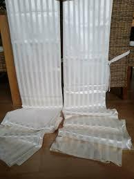 vorhänge glänzend kräuselband querbehang creme wohnzimmer in