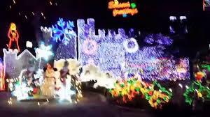 Christmas Tree Lane Fresno Ca by Christmas Tree Lane In Fresno California Youtube