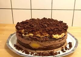 schokoladen pfirsich torte