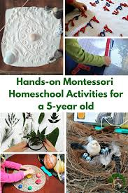 Hands On Montessori Homeschool Activities For A 5 Year Old