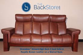 Stressless Wizard 3 Seat High Back Sofa Royalin Brown Color Leather ... Brown Leather High Back Chair And Ottoman For Sale At 1stdibs Costa Product Printer Friendly Page Square Shape Upholstered Living Room Chairs Beautiful Baxton Studio Larissa Modern Classic Mission Style Cherry Finished Shop Copper Grove Gembloux Wing On Free Belleze Extra Overstuffed Contemporary Full Recliner Leather Highback Sitting Chairs Beige Sofas Black Wooden Wingback Cool Terrific Room Blue Microfiber Fniture With Simple Ding Wooden Rectangular Walmart Suspension