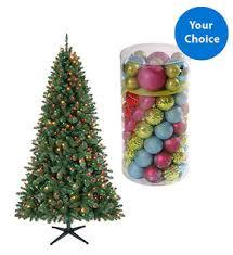 Walmart Christmas Tree Deals 65 Foot Pre Lit Ornament Set