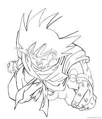 Dragon Ball Coloring Pages Super God Gt Printable Z Pictures Goku Saiyan 2 Full Size